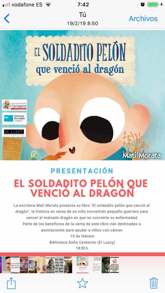 """""""Soldadito Pelón que venció al dragón"""""""