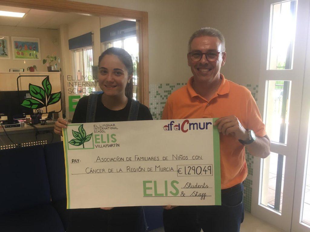 Donación El Limonar International School Villamartin