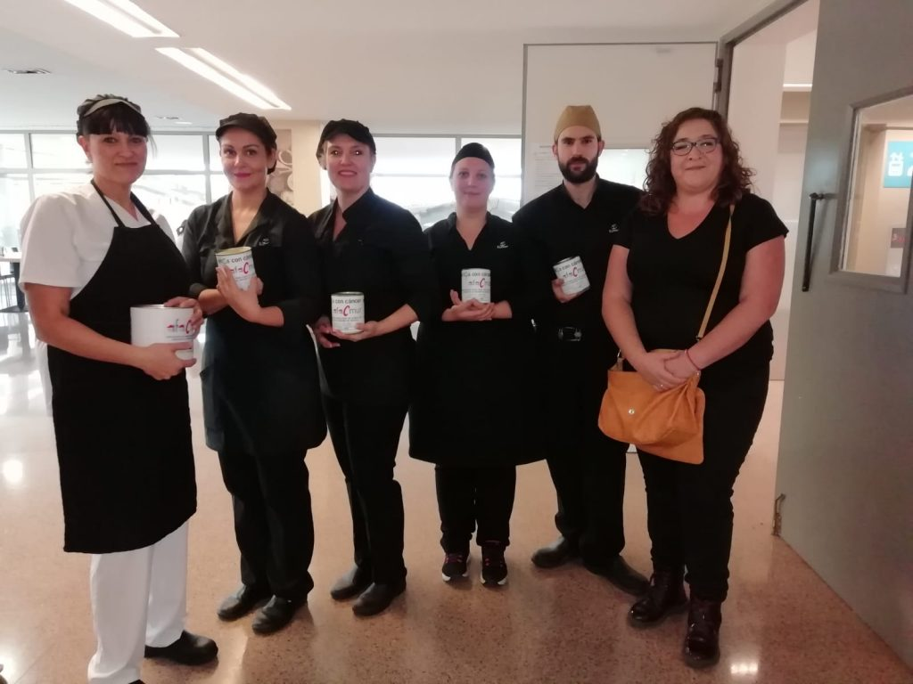 DONATIVO CAFETERÍA DE PERSONAL DEL HOSPITAL SANTA LUCÍA