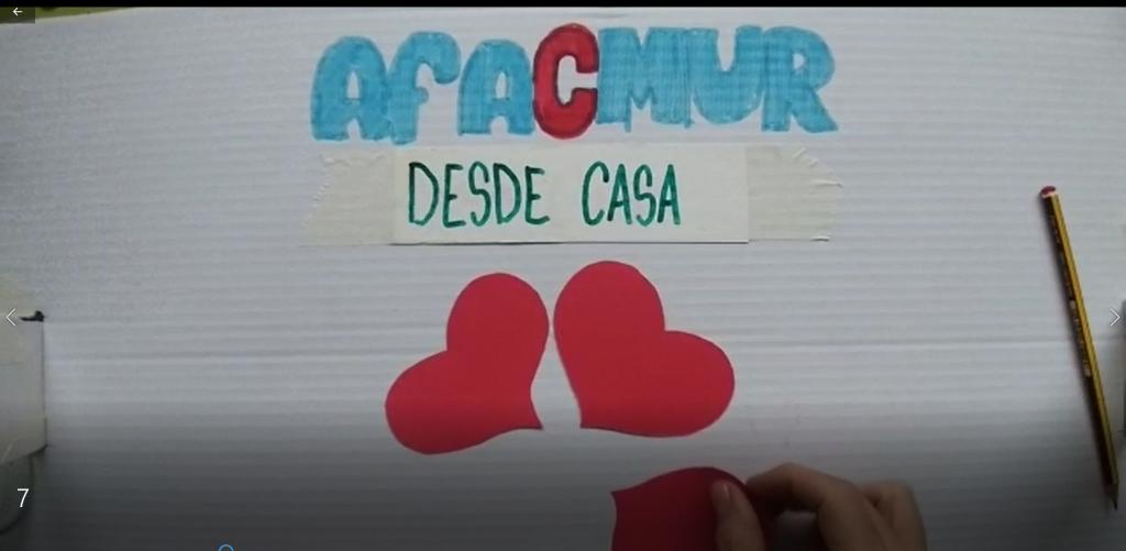 AFACMUR DESDE CASA