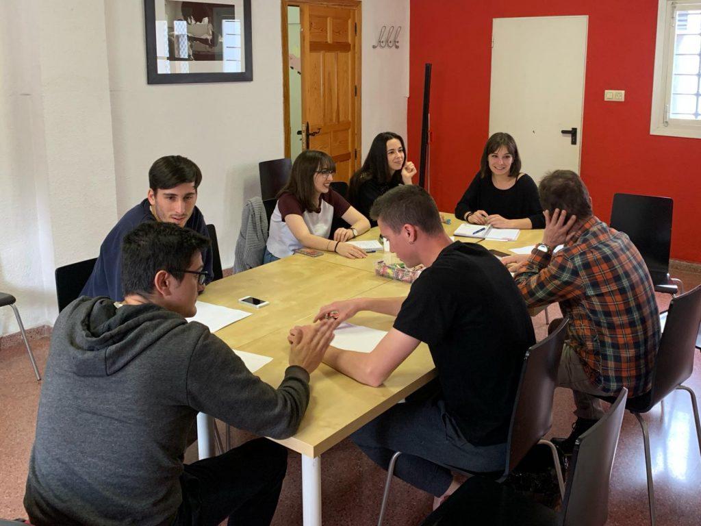Quinta sesión del Grupo de Guerreros, preparando un proyecto muy especial… ???
