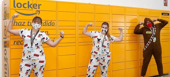 La Estación Logística de Amazon en Murcia dona 10.000€ a AFACMUR