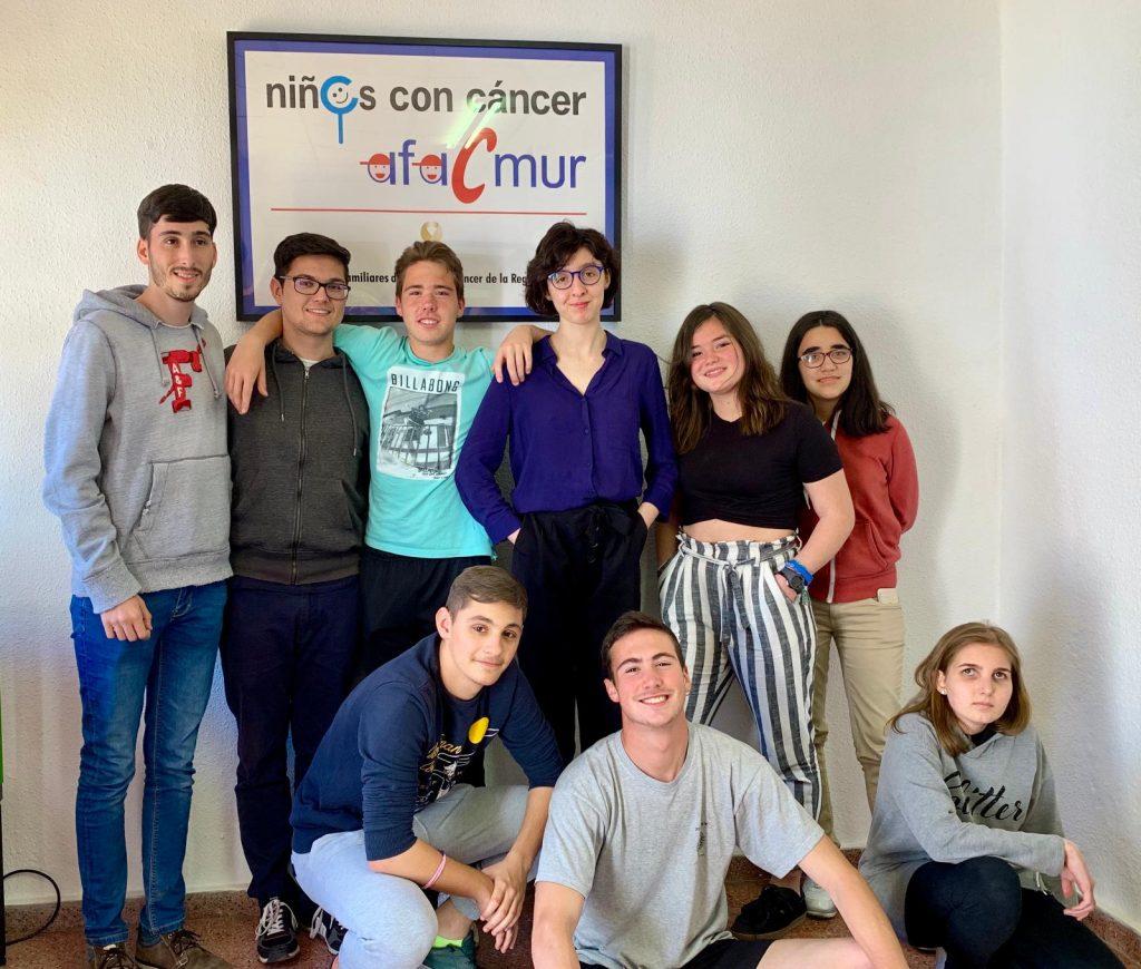 7ª SESIÓN DEL GRUPO DE ADOLESCENTES DE AFACMUR