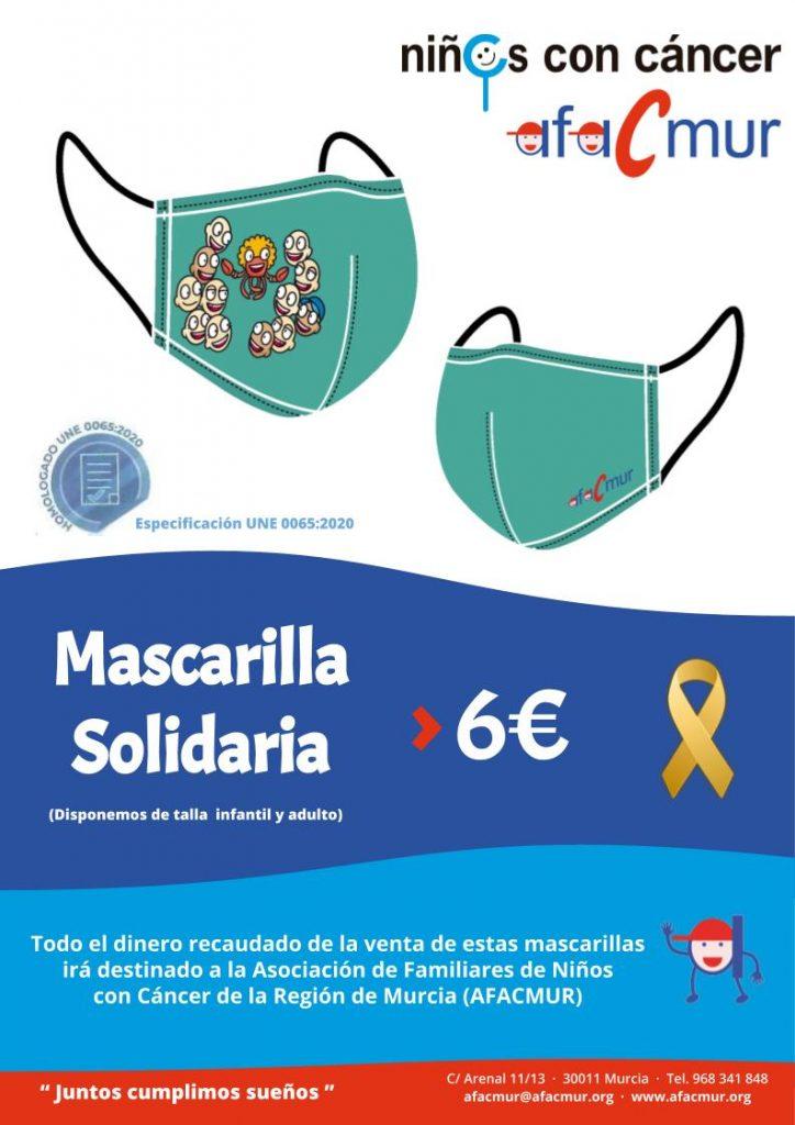 """MASCARILLAS SOLIDARIAS AFACMUR"""