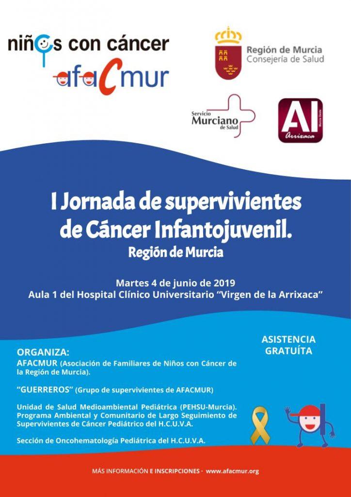 I Jornada de supervivientes de Cáncer Infantojuvenil. Región de Murcia